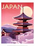 Japan Posters af Ignacio Zabaleta