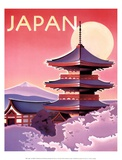 Japan Poster by Ignacio Zabaleta