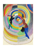 Political Drama, 1914 Giclee Print by Robert Delaunay
