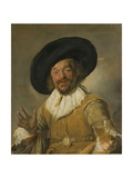 Merry Drinker, 1668-1630 Giclee Print by Frans Hals