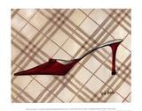 Poussoir rougeII Art par Trish Biddle