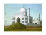 The Taj Mahal, C. 1860-80 Giclée-tryk af Erastus Salisbury Field