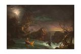 The Voyage of Manhood: Manhood, 1842 Giclée-tryk af Thomas Cole