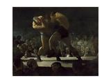 Club Night, 1907 Giclee-trykk av George Bellows