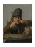 Youth Making a Face, 1632-35 Giclée-vedos tekijänä Adriaen Brouwer