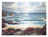 Blossoms By The Ocean Prints by Nenad Mirkovich