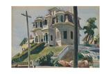 Haskell's House, 1924 Reproduction procédé giclée par Edward Hopper