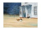 Cape Cod Evening, 1939 Giclee-trykk av Edward Hopper