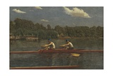 The Biglin Brothers Racing, 1872 Giclee-trykk av Thomas Eakins