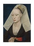 Portrait of a Lady, C. 1460 Giclée-Druck von Rogier van der Weyden