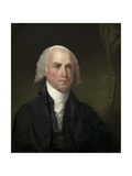 James Madison , 1821 Giclee Print by Gilbert Stuart