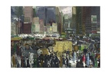 New York, 1911 Giclee-trykk av George Bellows