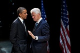 President Barack Obama with Former President Bill Clinton at an Election Year Fundraiser Photo