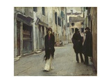 Street in Venice, 1911 Giclee Print by John Singer Sargent