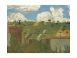 Landscape of the Ile-De-France, 1894 Reproduction procédé giclée par Edouard Vuillard