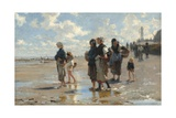 Setting Out to Fish, 1878 Giclee Print by John Singer Sargent