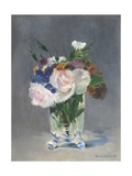 Flowers in a Crystal Vase, 1882 Giclee Print by Edouard Manet