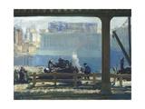 Blue Morning, 1909 Giclee-trykk av George Bellows