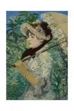 Jeanne (Spring), 1881 Giclee Print by Edouard Manet