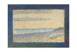 Seascape (Gravelines), 1890 Giclee Print by Georges Seurat