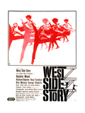 West Side Story, German Poster Art, 1961 Stampa giclée
