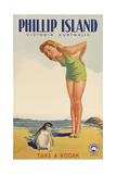 Phillip Island, Victoria, Australia Giclee Print