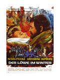 The Lion in Winter, (aka Der Lowe Im Winter), 1968 Gicléedruk