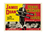 Rebel Without a Cause, James Dean (Center), 1955 Giclee Print