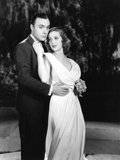 Shanghai, from Left, Charles Boyer, Loretta Young, 1935 Foto