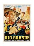 Rio Grande, John Wayne, 1950 ジクレープリント