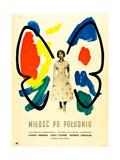 Love in the Afternoon, (AKA Milosc Po Poludniu), Polish Poster, Audrey Hepburn, 1957 Giclée-tryk