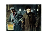 The Adventures of Sherlock Holmes, from Left, Basil Rathbone, Nigel Bruce, 1939 Giclée-tryk