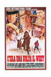 Once Upon a Time in the West, 1968 Giclée-Druck