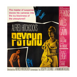 Psycho, Top: Anthony Perkins, Bottom from Left: John Gavin, Vera Miles, Janet Leigh, 1960 Giclee-trykk