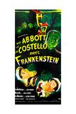 Abbott and Costello Meet Frankenstein, (AKA Bud Abbott and Lou Costello Meet Frankenstein) Plakater