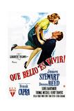 It's a Wonderful Life, (AKA Que Bello Es Vivir!), Spanish Poster Art, 1946 Giclee Print