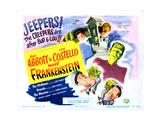 Abbott and Costello Meet Frankenstein Giclee-trykk