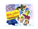 Abbott and Costello Meet Frankenstein Giclee Print