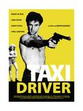 Taxi Driver, Jodie Foster, Robert De Niro, 1976 Giclée-tryk