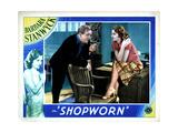 Shopworn, from Left, Joe Sawyer, Barbara Stanwyck, 1932 Giclee Print
