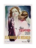 Mildred Pierce, (aka Il Romanzo Di Mildred), 1945 Impressão giclée