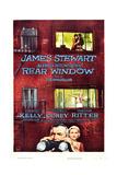 Rear Window, Grace Kelly, James Stewart, 1954 Giclée-Druck