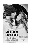 The Adventures of Robin Hood, from Left, Errol Flynn, Olivia De Havilland, 1938 Giclee Print