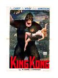 King Kong, Italian Poster Art, 1933 Giclee Print