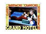 Grand Hotel, from Left, Joan Crawford, Wallace Beery, 1932 Giclee Print