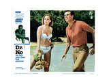 Dr. No, Ursula Andress, Sean Connery, 1962 Giclée-tryk