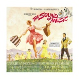 The Sound of Music, from Left: Julie Andrews, Christopher Plummer, 1965 Giclée-tryk