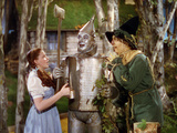 The Wizard of Oz, from Left: Judy Garland, Jack Haley, Ray Bolger, 1939 Foto