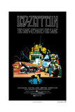 The Song Remains the Same, Jimmy Page, 1976 Giclée-tryk