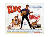 California Holiday (aka Spinout), Elvis Presley, 1966 Giclee-trykk